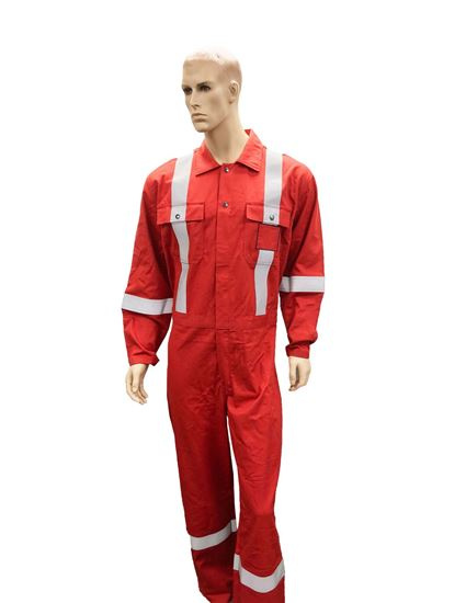 High Visibility Flame Resistant (FR) Deluxe Coverall